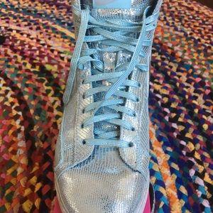 "Nike ""disco ball"" Blazer MID QZ women's sneakers"